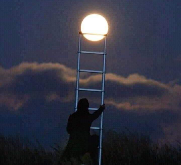 El voia luna de pe cer…